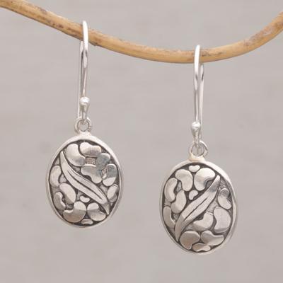 Novica Sterling silver dangle earrings, Sacred History