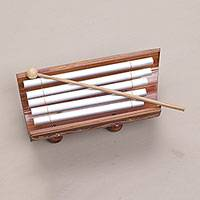 Bamboo and aluminum xylophone, 'Twinkling Glory'