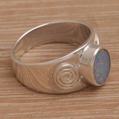 Opal cocktail ring, Sea and Sun
