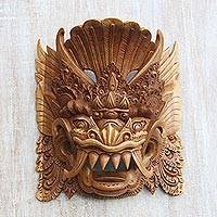 Wood mask, 'Barong Sai'