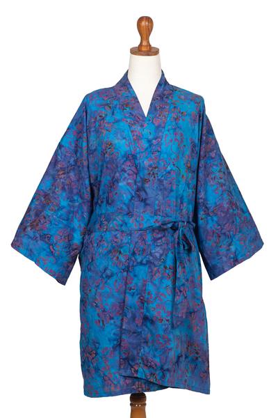 100% Cotton Artisan Batik Robe
