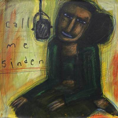 Signed Modern Painting of a Traditional Dancer from Java, 'Call Me Sinden'