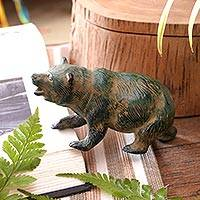 Featured review for Bronze figurine, Brave Bear