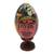 Wood sculpture, 'Bali Festival' - Multicolored Egg-Shaped Albesia Wood Sculpture from Bali (image 2c) thumbail
