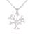 Sterling silver pendant necklace, 'Dainty Bark' - Sterling Silver Tree Pendant Necklace from Indonesia (image 2a) thumbail