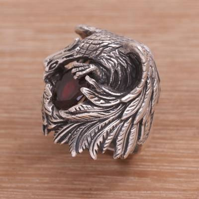 Loyal Bird Brooch Solid Silver Handmade Jewelry & Watches Fine Jewelry