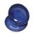 Ceramic condiment dishes, 'Bright Sky' (pair) - Pair of Blue Ceramic Condiment Dishes from Indonesia (image 2c) thumbail
