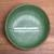 Ceramic serving bowl, 'Banana Vibes' (9 inch) - Handcrafted Green Banana Leaf Ceramic Serving  (9 Inch) (image 2c) thumbail