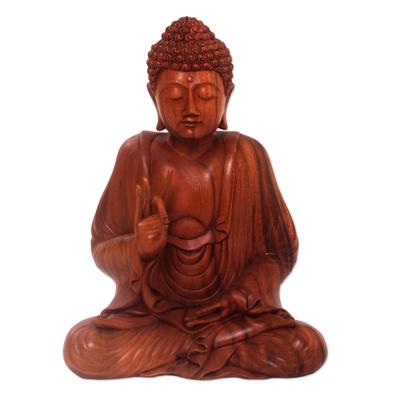 'Buddha in Lotus,' sculpture - 'Buddha in Lotus