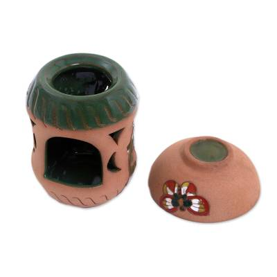 Handcrafted Butterfly Ceramic Aromatherapy Oil Warmer
