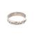 Sterling silver band ring, 'What Love Is' - Romantic Sterling Silver Band Ring from Bali (image 2a) thumbail