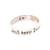Sterling silver band ring, 'Just Keep Swimming' - Inspirational Sterling Silver Band Ring from Bali (image 2b) thumbail
