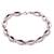 Sterling silver link bracelet, 'Chained Up' - Sterling Silver Link Bracelet Crafted in Bali (image 2a) thumbail