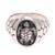 Men's sterling silver ring, 'Gallant Turtle' - Men's Sterling Silver Sea Turtle Ring from Bali thumbail