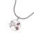 Garnet pendant necklace, 'Sea Turtle Family' - Garnet Sea Turtle Pendant Necklace from Bali (image 2c) thumbail