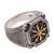 Men's sterling silver ring, 'Bali Inspiration' - Men's Star Motif Sterling Silver Ring from Bali (image 2d) thumbail