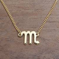 Gold plated sterling silver pendant necklace, 'Golden Scorpio' - 18k Gold Plated Sterling Silver Scorpio Pendant Necklace
