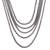 Sterling silver chain necklace, 'Naga Lair' - Sterling Silver Naga Chain Necklace from Bali (image 2b) thumbail