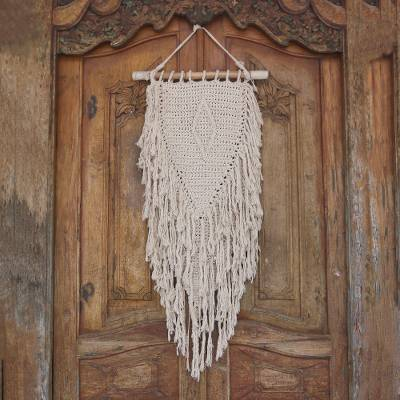 Cotton wall hanging, Glimpse of Singaraja