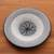 Ceramic decorative bowl, 'Grey Roots' - Hand-Painted Ceramic Decorative Bowl in Grey from Bali (image 2b) thumbail
