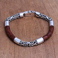 f64fb0efad005 LEATHER BRACELETS - Unique Leather Bracelet Collection at NOVICA