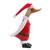 Bamboo root and wood figurine, 'Santa Duck' - Bamboo Root and Wood Santa Duck Decorative Figurine (image 2b) thumbail