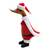 Bamboo root and wood figurine, 'Santa Duck' - Bamboo Root and Wood Santa Duck Decorative Figurine (image 2c) thumbail