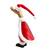 Bamboo root and wood figurine, 'Santa Duck' - Bamboo Root and Wood Santa Duck Decorative Figurine (image 2d) thumbail