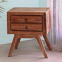 Teakwood chest of drawers, 'Simple Modernity' - Modern Teakwood Chest of Drawers from Bali