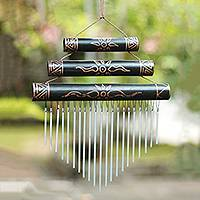 Bamboo wind chimes, Breezy Sound