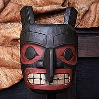 Wood mask, 'Totem Head'