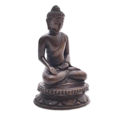Bronze Statuette of Balinese Buddha