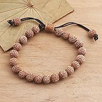 Beaded bracelet, 'Chakra Beauty'