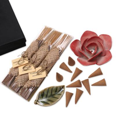 Boxed Aromatherapy Incense Gift Set