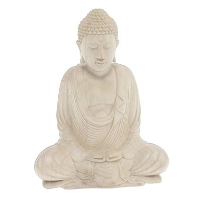 Artisan Crafted Seated Buddha Sculpture