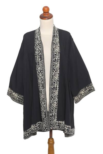Artisan Crafted Batik Kimono Jacket