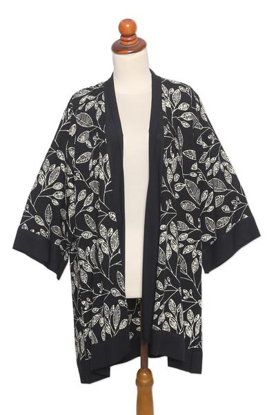 Hand Made Batik Rayon Kimono Jacket