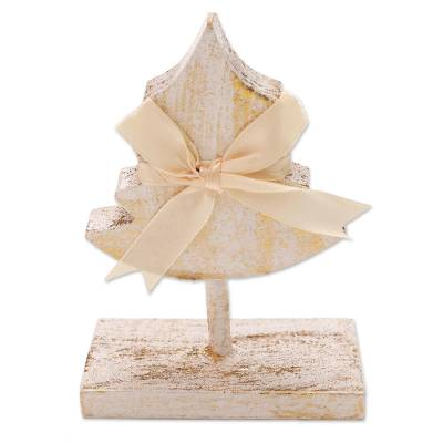 Wooden Christmas Tree Holiday Decor Accent