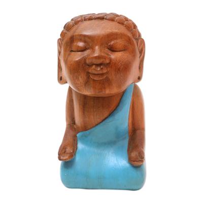 Hand Carved Buddha Sculpture