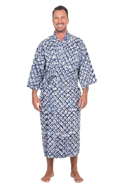 Handmade Batik Rayon Robe
