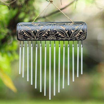 Bamboo windchime 'Melodic'  - Hand Crafted Bamboo Windchime