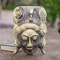 Wood mask, 'Lady of the Jungle'
