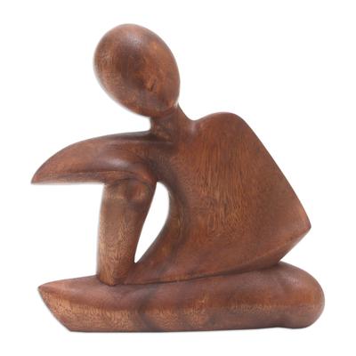 Suar Wood Statuette