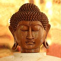 'Buddha Head,' sculpture - 'Buddha Head