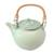 Ceramic teapot, 'Frog Song' - Hand Crafted Ceramic Teapot thumbail