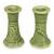 Ceramic candleholders, 'Hide and Seek' (pair) - Ceramic candleholders (Pair) thumbail