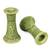 Ceramic candleholders, 'Hide and Seek' (pair) - Ceramic candleholders (Pair) (image 2b) thumbail