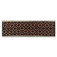 Cotton ikat wall hanging, 'Tamarind Fruit' - Hand Woven Ikat Tapestry