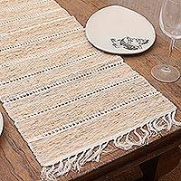 'Terawang Motif II,' table runner