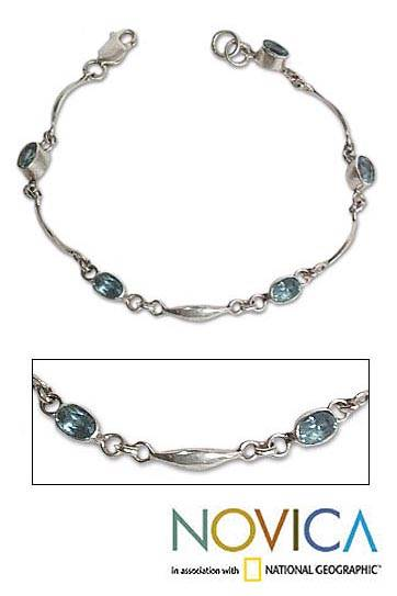 Topaz bracelet, 'Sweet Intentions' - Topaz bracelet